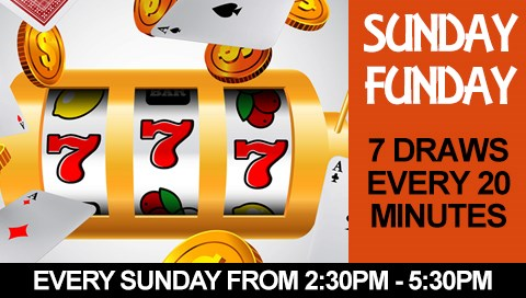 Sunday Fun Day Game Show Pokies at Caloundra