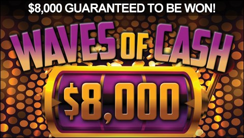 Waves of Cash Pokie Promotion
